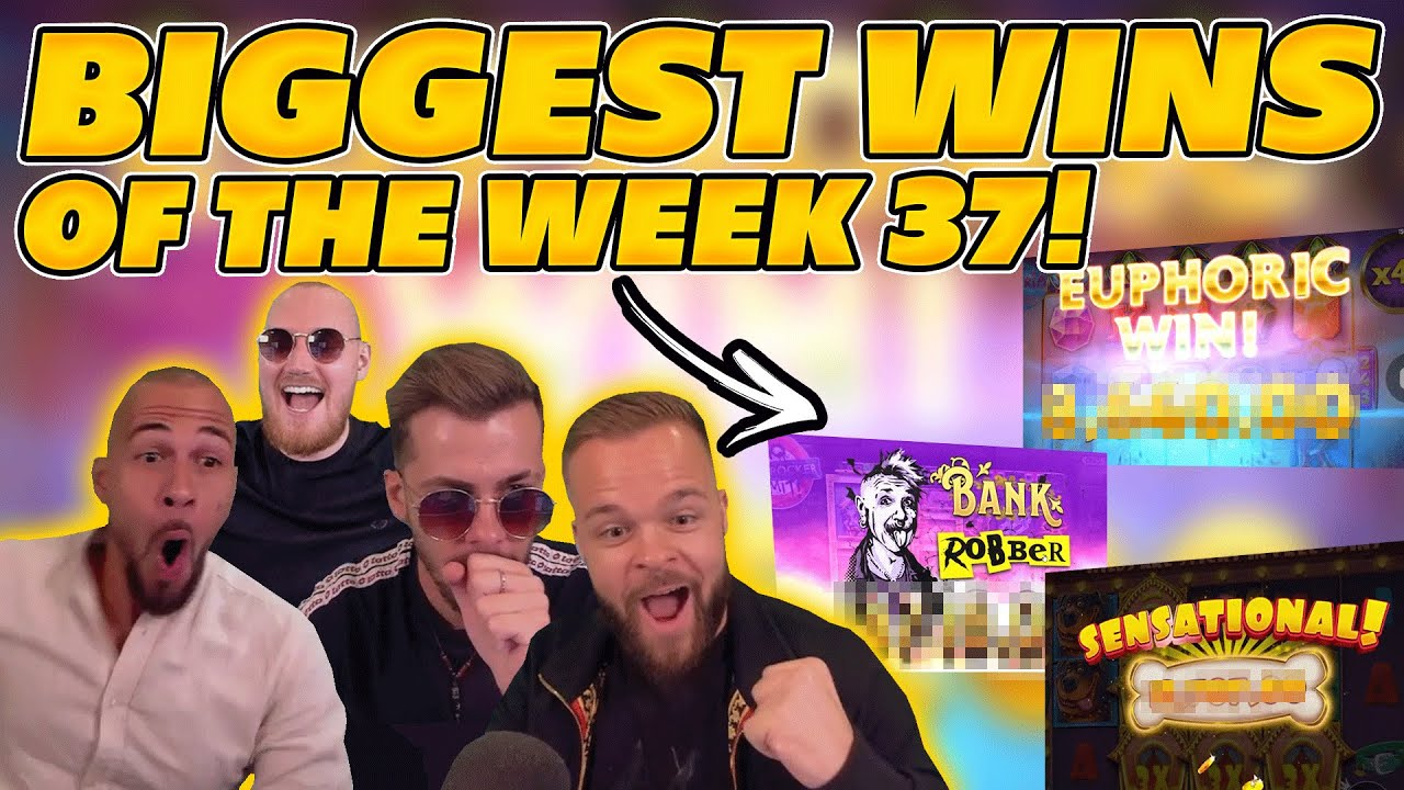 BIGGEST WINS OF THE WEEK 37! INSANE BIG WINS on Online Slots! TWITCH HIGHLIGHTS!