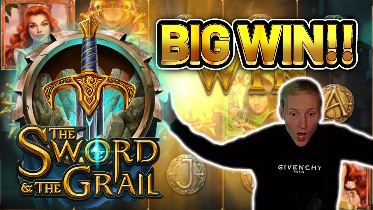 BIG WIN! SWORD AND THE GRAIL BIG WIN –  Casino Slots from Casinodaddy LIVE STREAM