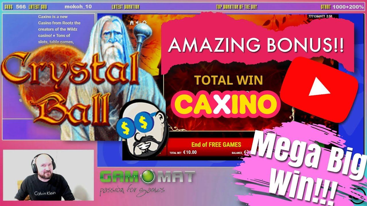 Amazing Bonus!!Mega Big Win From Crystal Ball Slot!!