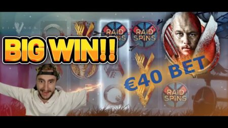 BIG WIN! VIKINGS NETENT BIG WIN – Casino Slotsfrom Casinodaddy LIVE STREAM