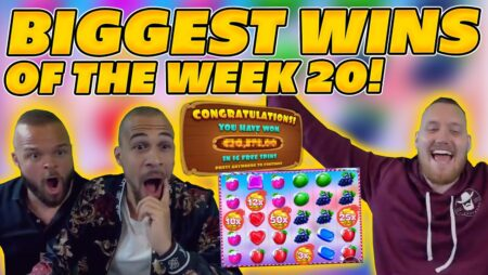 BIGGEST WINS OF THE WEEK 20! INSANE BIG WINS on Online Slots! TWITCH HIGHLIGHTS!