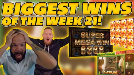 BIGGEST WINS OF THE WEEK 21! INSANE BIG WINS on Online Slots! TWITCH HIGHLIGHTS!