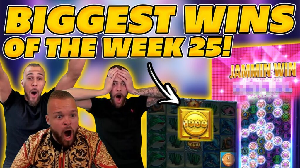 BIGGEST WINS OF THE WEEK 25! INSANE BIG WINS on Online Slots! TWITCH HIGHLIGHTS!