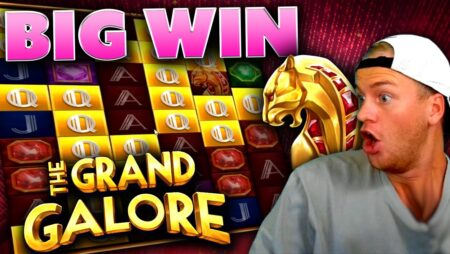 Big Win on The Grand Galore! (New Slot)