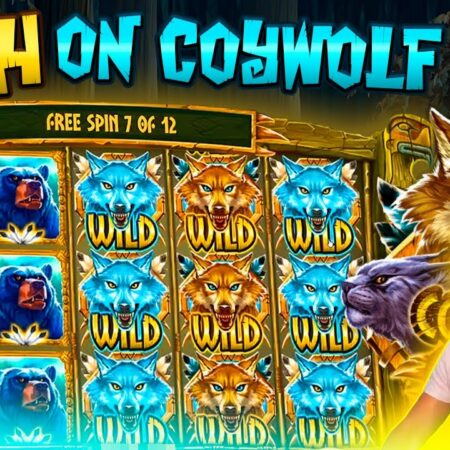 CRAZY CASH ON COYWOLF CASH BONUS | BIG WIN ON PLAY N GO ONLINE SLOT MACHINE