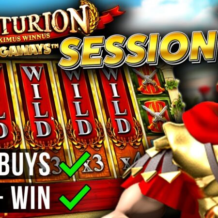 Centurion Megaways Slot Session with HUGE WIN!