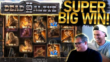 €9 Bet SUPER BIG WIN on Dead or Alive 2!