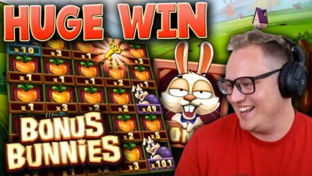 Huge Win on Bonus Bunnies Slot