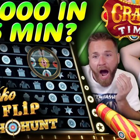Insane Rush and Big Wins in Crazy Time!