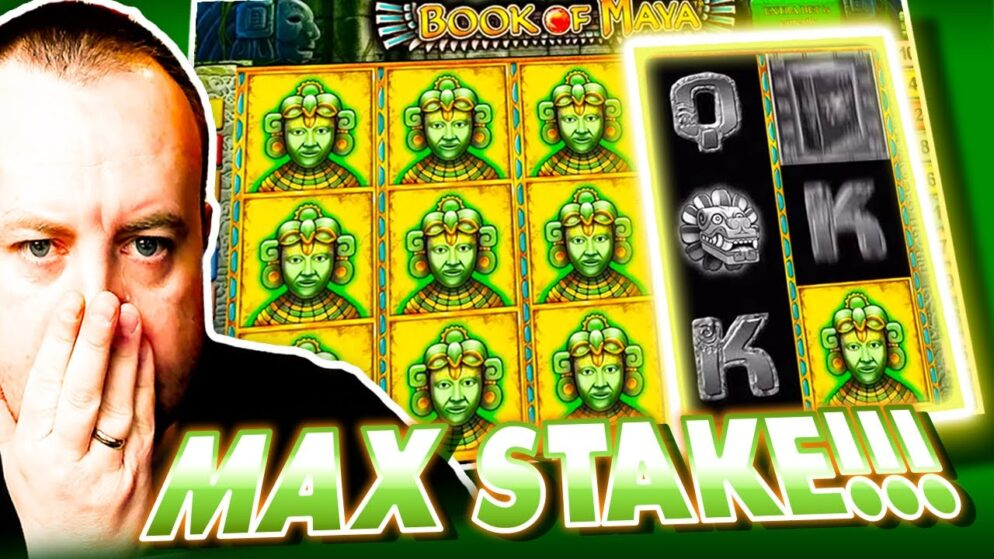 MAX BET on Book Of Maya and BIG WIN on High Stakes with big cashout