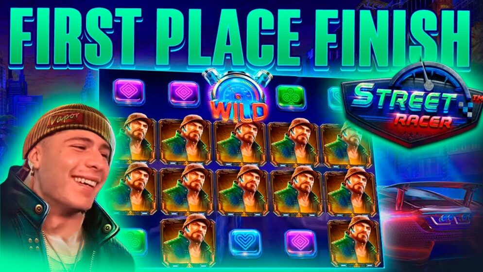 RACING TO THE BIG WIN ON STREET RACER BONUS | HUGE WIN ON PRAGMATIC PLAY ONLINE SLOT MACHINE
