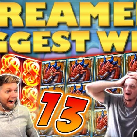 Streamers Biggest Wins – #13 / 2020