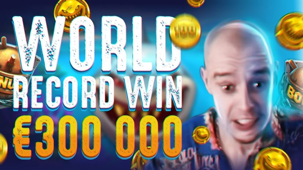 WORLD RECORD WIN. Slot machine Razor Shark big win. Online casino PF